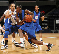 Deuce Bello at the NBPA Top100 camp June 18, 2010 at the John Paul Jones Arena in Charlottesville, VA. Visit www.nbpatop100.blogspot.com for more photos. (Photo © Andrew Shurtleff)