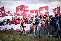 Niels Vandeputte (BEL)<br /> <br /> Men's U23 race<br /> UCI 2020 Cyclocross World Championships<br /> Dübendorf / Switzerland<br /> <br /> ©kramon
