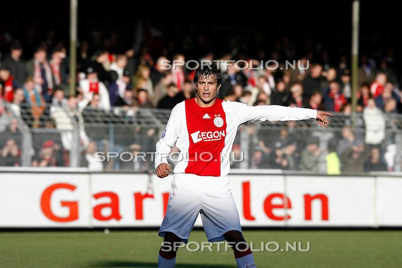 Nederland, Volendam, 7 december 2008..Eredivisie.Seizoen 2008-2009.Volendam-Ajax (1-2).Dario Cvitanich van Ajax in actie