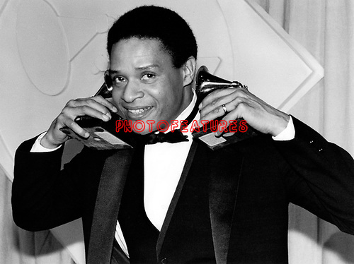 Al Jarreau 1982 Grammy Awards Feb 24th at the Shrine Auditorium<br /> © Chris Walter