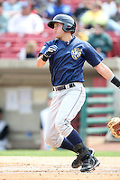 April 11 2010: Joey Lewis of the Burlington Bees. The Bees are the Low A affiliate of the Kansas City Royals. Photo by: Chris Proctor/Four Seam Images