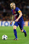 UEFA Champions League 2017/2018.<br /> Quarter-finals 1st leg.<br /> FC Barcelona vs AS Roma: 4-1.<br /> Andres Iniesta.