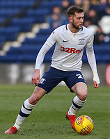 Preston North End's Tom Barkhuizen<br /> <br /> Photographer Alex Dodd/CameraSport<br /> <br /> The EFL Sky Bet Championship - Preston North End v Nottingham Forest - Saturday 16th February 2019 - Deepdale Stadium - Preston<br /> <br /> World Copyright © 2019 CameraSport. All rights reserved. 43 Linden Ave. Countesthorpe. Leicester. England. LE8 5PG - Tel: +44 (0) 116 277 4147 - admin@camerasport.com - www.camerasport.com