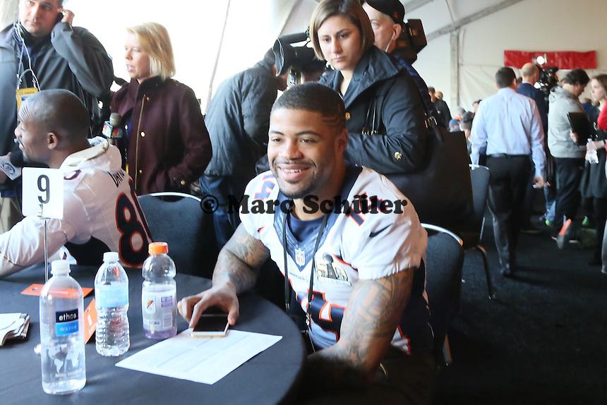 WR Cody Lattimer (Broncos) - Super Bowl 50 Denver Broncos PK, Marriott Santa Clara