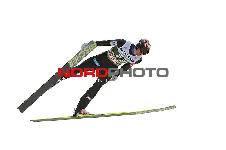 Innsbruck, Austria 03.01.2014 <br /> 2013-14 Vierschanzentournee, <br /> FIS Ski Jumping World Cup <br /> Anders Bardal of Norway in action during the FIS Ski Jumping World Cup Vierschanzentournee on January 3, 2014 in Innsbruck, Austria.<br /> <br /> Foto &not;&copy; nph / Pier Paolo Piciucco