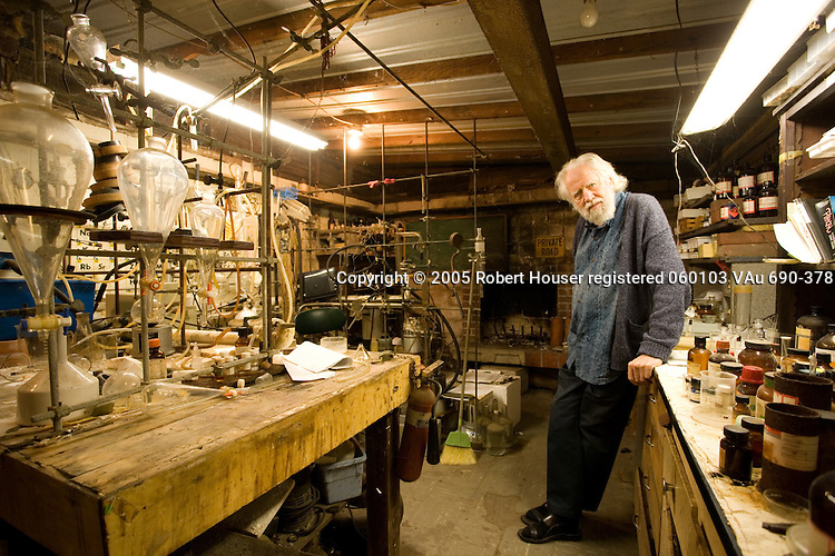 """Alexander """"Sasha"""" Shulgin, Ph.D. - pharmacologist and chemist, worked with MDMA (Ecstasy) and other psychoactive chemicals: Executive portrait photographs by San Francisco - corporate and annual report - photographer Robert Houser."""