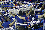 Montakit Fuenlabrada's supporters during Eurocup, Regular Season, Round 6 match. November 16, 2016. (ALTERPHOTOS/Acero)