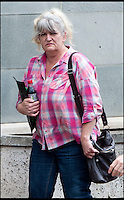 BNPS.co.uk (01202 558833)Pic: TomWren/BNPS<br /> Kerstin Vockert arriving at Bournemouth Magistrates Court.