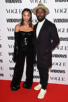 "LONDON, UK. October 31, 2018: Magaajyia Silberfield & Ashley Thomas at the ""Widows"" special screening in association with Vogue at the Tate Modern, London.<br /> Picture: Steve Vas/Featureflash"
