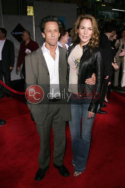 "Brian Grazer and Gigi Levangie<br /> At the premiere of ""Flightplan"", El Capitan Theater, Hollywood, CA 09-19-05<br /> David Edwards/DailyCeleb.Com 818-249-4998"