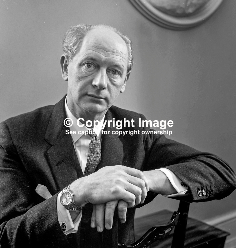 Jack Lynch, An Taoiseach, Prime Minister, Rep of Ireland, 1966-1973 and 1977-1979. 197005000202, member of Fianna Fail party.<br /> <br /> Copyright Image from Victor Patterson, 54 Dorchester Park, Belfast, UK, BT9 6RJ<br /> <br /> t1: +44 28 9066 1296 (from Rep of Ireland 048 9066 1296)<br /> t2: +44 28 9002 2446 (from Rep of Ireland 048 9002 2446)<br /> m: +44 7802 353836<br /> <br /> e1: victorpatterson@me.com<br /> e2: victorpatterson@gmail.com<br /> <br /> The use of my copyright images is subject to my Terms &amp; Conditions.<br /> <br /> It is IMPORTANT that you familiarise yourself with them. They are available on my website at www.victorpatterson.com.<br /> <br /> None of my copyright images may be used on a website unless they are visibly watermarked, i.e. &copy; Victor Patterson within the body of the visible image. Metadata denoting my copyright must NOT be deleted. <br /> <br /> Web use (maximum size - 300 kb) is extra at currently recommended NUJ rates.