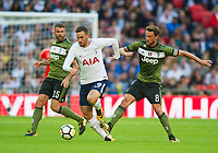 Tottenham's Vincent Janssen during the pre season friendly match between Tottenham Hotspur and Juventus at White Hart Lane, London, England on 5 August 2017. Photo by Andrew Aleksiejczuk / PRiME Media Images.