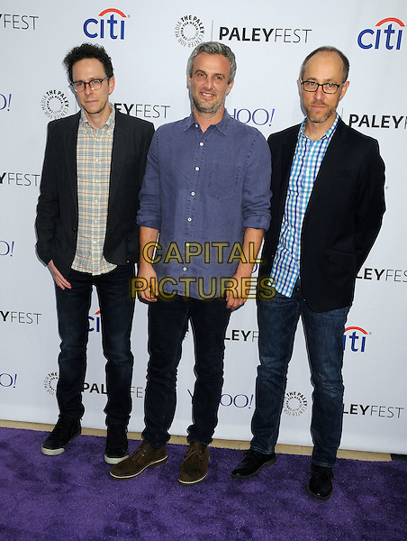 15 September 2015 - Beverly Hills, California - Jarrad Paul, Andrew Mogel, Ben Wexler. 2015 PaleyFest Fall TV Preview - &quot;The Grinder&quot; held at The Paley Center. <br /> CAP/ADM/BP<br /> &copy;BP/ADM/Capital Pictures