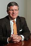 Gilbert A. Herrera, chairman of the Houston Hispanic Chamber of Commerce Monday April 23,2012. (Dave Rossman Photo)