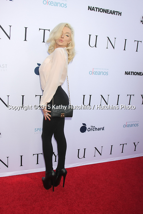 "LOS ANGELES - JUN 24:  Courtney Stodden at the ""Unity"" Documentary World Premeire at the Director's Guild of America on June 24, 2015 in Los Angeles, CA"