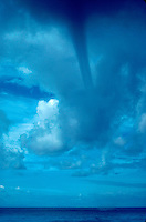 Waterspout over Pacific Ocean