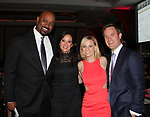 Billy King, Melanie Lynn Frantz, Courtney Reagan, Jared Baker - Figure Skating in Harlem's Champions in Life (in its 21st year) Benefit Gala recognizing the medal-winning 2018 US Olympic Figure Skating Team on May 1, 2018 at Pier Sixty at Chelsea Piers, New York City, New York. (Photo by Sue Coflin/Max Photo)