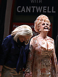Candice Bergen, Angela Lansbury.during the Broadway Opening Night Performance Curtain Call for 'Gore Vidal's The Best Man' at the Gerald Schoenfeld Theatre in New York City on 4/1/2012