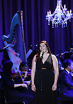 Bayla Whitten performing in The American Pops Orchestra '75 Years of Streisand'  at the George Washington University Lisner Auditorium on January 13, 2017 in New York City.