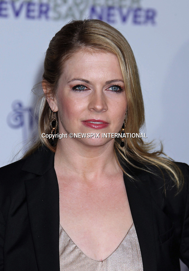 """MELISSA JOAN HART.at Justin Bieber's """"Never Say Never"""" World Premiere, Nokia Theatre, Los Angeles_08/02/2011.Mandatory Photo Credit: ©M.Philips_Newspix International..**ALL FEES PAYABLE TO: """"NEWSPIX INTERNATIONAL""""**..PHOTO CREDIT MANDATORY!!: NEWSPIX INTERNATIONAL(Failure to credit will incur a surcharge of 100% of reproduction fees)..IMMEDIATE CONFIRMATION OF USAGE REQUIRED:.Newspix International, 31 Chinnery Hill, Bishop's Stortford, ENGLAND CM23 3PS.Tel:+441279 324672  ; Fax: +441279656877.Mobile:  0777568 1153.e-mail: info@newspixinternational.co.uk"""