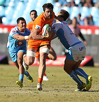 Javier Ortega Desio of the Jaguares during the Super Rugby match between the Vodacom Bulls and the Jaguares at Loftus Versfeld in Pretoria, South Africa on Saturday, 7 July 2018. Photo: Steve Haag / stevehaagsports.com