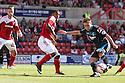 Luke Freeman of Stevenage shoots wide<br />  Swindon Town v Stevenage - Sky Bet League One- The County Ground, Swindon - 10th August 2013<br /> © Kevin Coleman 2013