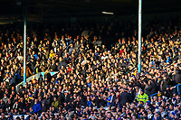 Leeds United fans watch on during the first half<br /> <br /> Photographer Alex Dodd/CameraSport<br /> <br /> The EFL Sky Bet Championship - Leeds United v Hull City - Saturday 29th December 2018 - Elland Road - Leeds<br /> <br /> World Copyright © 2018 CameraSport. All rights reserved. 43 Linden Ave. Countesthorpe. Leicester. England. LE8 5PG - Tel: +44 (0) 116 277 4147 - admin@camerasport.com - www.camerasport.com