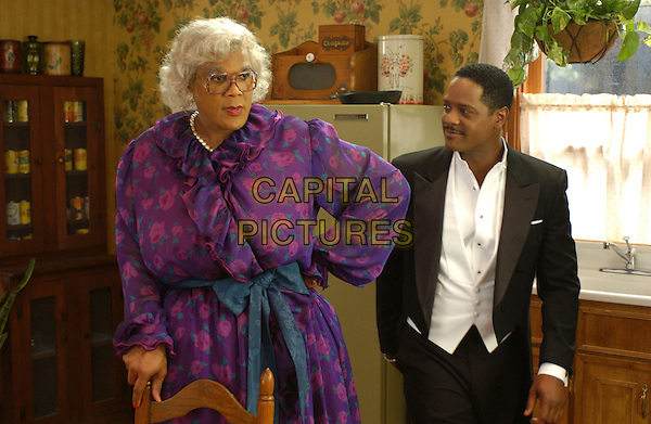 TYLER PERRY & BLAIR UNDERWOOD.in Madea's Family Reunion.*Editorial Use Only*.www.capitalpictures.com.sales@capitalpictures.com.Supplied by Capital Pictures.