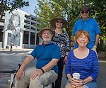 A photograph taken during the Hot August Nights Parade in downtown Reno on Sunday, August 13, 2017.