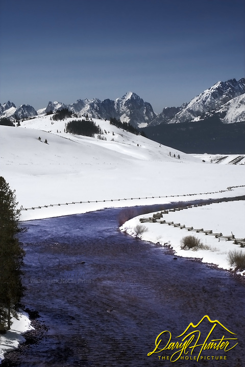 Salman River, Sawtooth Mountains, Stanley, Idaho