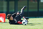 Ayaka Yamashita (JPN), JANUARY 16, 2018 -  Football / Soccer : <br /> Japan women's national team training camp <br /> in Tokyo, Japan. <br /> (Photo by Yohei Osada/AFLO)