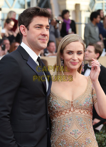 29 January 2017 - Los Angeles, California - Emily Blunt, John Krasinski. 23rd Annual Screen Actors Guild Awards held at The Shrine Expo Hall. <br /> CAP/ADM/FS<br /> &copy;FS/ADM/Capital Pictures