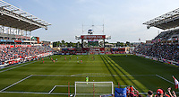 Bridgeview, IL. - May 21, 2016: The Chicago Fire defeated the Houston Dynamo by the score of 1-0 during regular season play at Toyota Park Park.