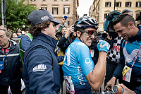 Richard Carapaz (ECU/Movistar) wins stage 4 from Orbetello to Frascati (228km)<br /> <br /> 102nd Giro d'Italia 2019<br /> <br /> ©kramon