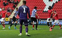 Atdhe Nuhiu of Sheffield Wednesday celebrates during Charlton Athletic vs Sheffield Wednesday, Sky Bet EFL Championship Football at The Valley on 30th November 2019