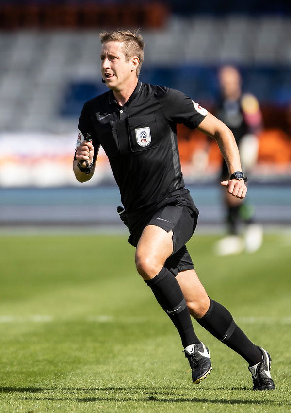 Referee John Brooks <br /> <br /> Photographer Andrew Kearns/CameraSport<br /> <br /> The EFL Sky Bet Championship - Luton Town v Preston North End - Saturday 20th June 2020 - Kenilworth Road - Luton<br /> <br /> World Copyright © 2020 CameraSport. All rights reserved. 43 Linden Ave. Countesthorpe. Leicester. England. LE8 5PG - Tel: +44 (0) 116 277 4147 - admin@camerasport.com - www.camerasport.com