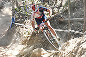 9th September 2017, Smithfield Forest, Cairns, Australia; UCI Mountain Bike World Championships; Annie Last (GBR) riding for OMX Pro Team during the elite womens cross country race