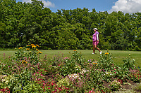 Shanshan Feng (CHN) makes her way to the tee on 11 during round 1 of the 2018 KPMG Women's PGA Championship, Kemper Lakes Golf Club, at Kildeer, Illinois, USA. 6/28/2018.<br /> Picture: Golffile | Ken Murray<br /> <br /> All photo usage must carry mandatory copyright credit (&copy; Golffile | Ken Murray)