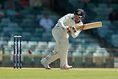 November 5th 2017, WACA Ground, Perth Australia; International cricket tour, Western Australia versus England, day 2; Clint Hinchliffe plays down the leg side during his innings on day two
