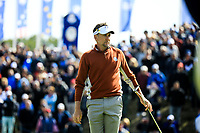 Ian Poulter (Team Europe) during the Saturday Fourballs at the Ryder Cup, Le Golf National, Paris, France. 29/09/2018.<br /> Picture Phil Inglis / Golffile.ie<br /> <br /> All photo usage must carry mandatory copyright credit (&copy; Golffile | Phil Inglis)