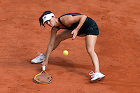 25-05-10, Tennis, France, Paris, Roland Garros, First round match,  Pironkova