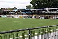 General view of the North Terrace at Bromley FC during Bromley vs Fulham, Friendly Match Football at the H2T Group Stadium on 6th July 2019