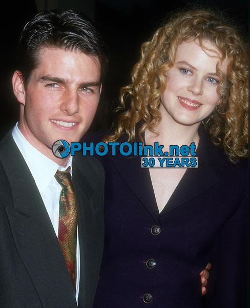 Tom Cruise, Nicole Kidman, 1997, Photo By Michael Ferguson/PHOTOlink