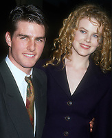 Tom Cruise, Nicole Kidman, 1997, Photo By Michael Ferguson/PHOTOlink