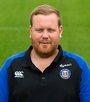 Craig Lilley of Bath Rugby poses for a portrait. Bath Rugby Media Day on August 14, 2018 at Farleigh House in Bath, England. Photo by: Patrick Khachfe / Onside Images