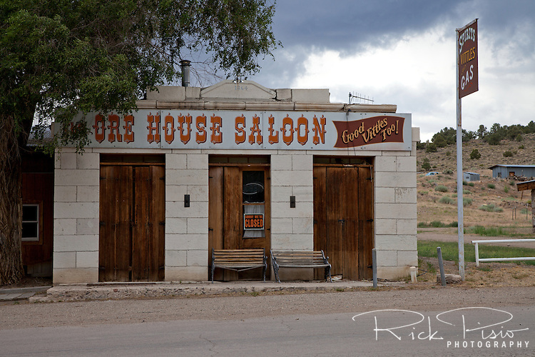 Ore House Saloon in Ione, Nevada.