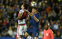 Cary, N.C. - Tuesday March 27, 2018: Matt Miazga during an International friendly game between the men's national teams of the United States (USA) and Paraguay (PAR) at Sahlen's Stadium at WakeMed Soccer Park.