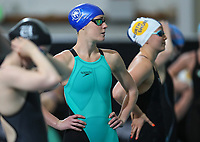Emma Godwin, 100m Back. New Zealand Short Course Swimming Championships, National Aquatic Centre, Auckland, New Zealand, Wednesday 2nd October 2019. Photo: Simon Watts/www.bwmedia.co.nz/SwimmingNZ