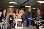 6 of Nine Naughty Novelists - Sweet to Steamy Romance (www.naughtynine.com) L to R - Skyler Kode, P.G. Forte, Juniper Bell, Erin Nicholas, Meg Benjamin, Kelly Jameson at Romantic Times Booklovers Annual Convention 2011 - The Book Industry Event of the Year - April 6th to April 10th at the Westin Bonaventure, Los Angeles, California for readers, authors, booksellers, publishers, editors, agents and tomorrow's novelists - the aspiring writers. (Photo by Sue Coflin/Max Photos)