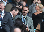 England manager Gareth Southgate takes his seat during the premier league match at the Etihad Stadium, Manchester. Picture date 9th September 2017. Picture credit should read: David Klein/Sportimage